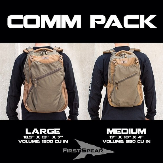 First Spear Comm Pack Medium and Large