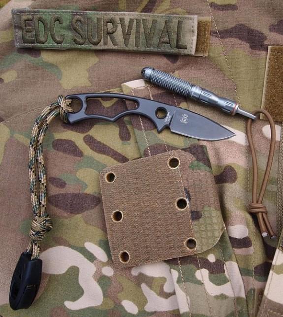 EDC Survival Tools Cyclop backing