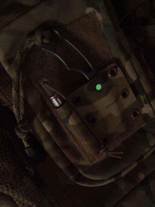 EDC Survival Tools Cyclop glow