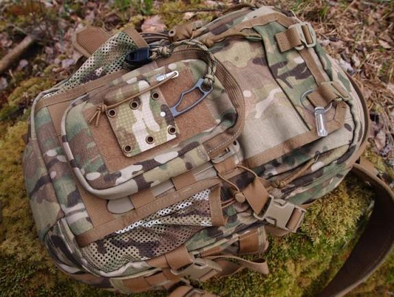 EDC Survival Tools Cyclop on bag