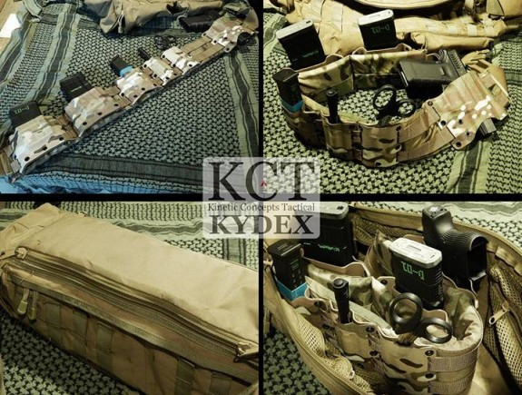 KCT MOLLE-Link accessories