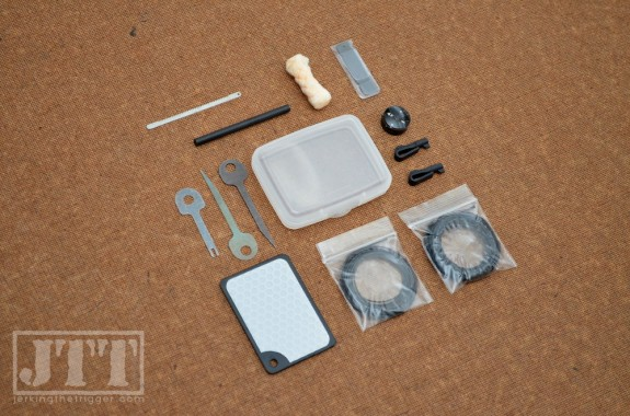 Vigilant Gear Micro SERE Kit Contents