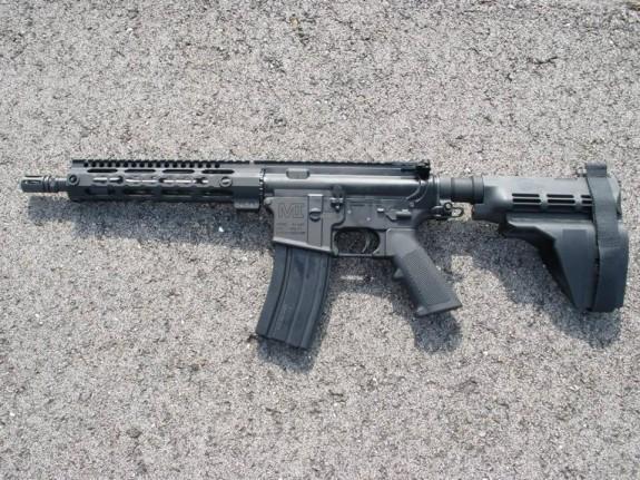 MI pistol with sb15
