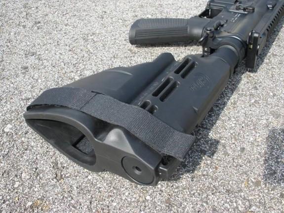 MI pistol with sb15 buffer tube