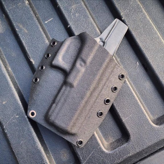 Veil solutions coated holster