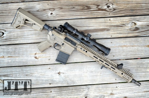 Parallax Tactical PXTreme FFSSR Upper Build