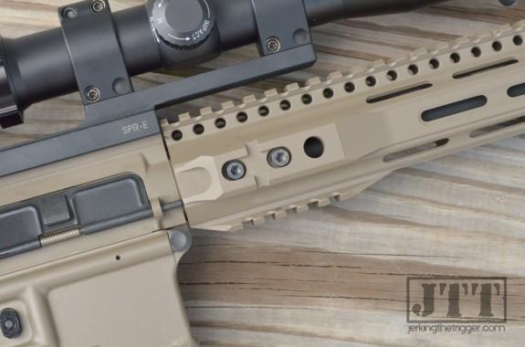 Parallax Tactical PXTreme FFSSR Upper Detail