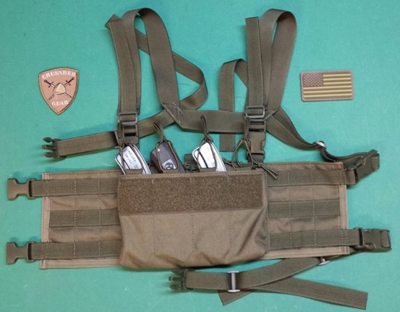 crusader gear bx25 1022 chest rig
