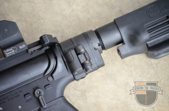 Law Tactical AR Folding Stock Adapter Hinge Side