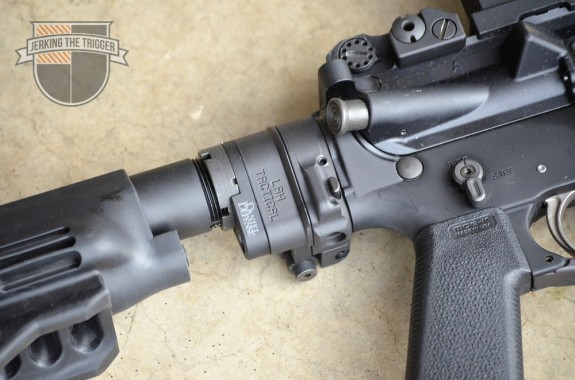 Law Tactical AR Folding Stock Adapter Latch Side