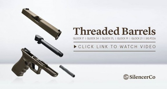 silencerco threaded glock barrels