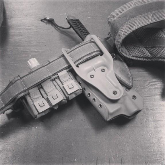 snake eater tactical set belt 1