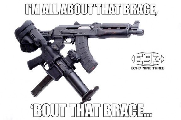 echo nine three bout that brace