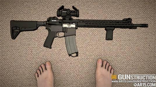 gunstruction feet