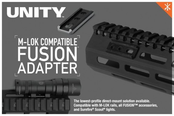 M-LOK Fusion Adapter Unity Tactical