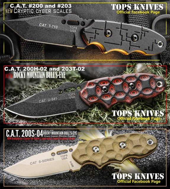 cat models tops knives