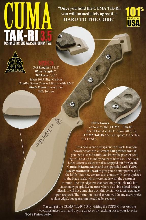 tops knives cuma tak-ri 35