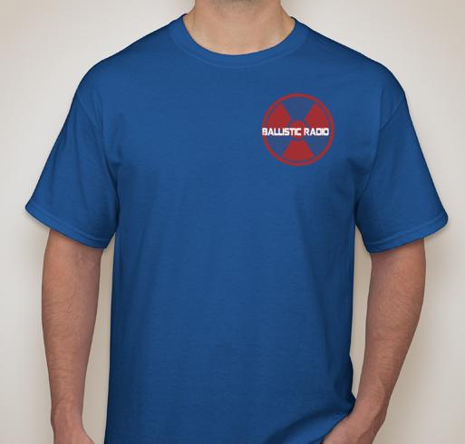 ballistic radio shirt front