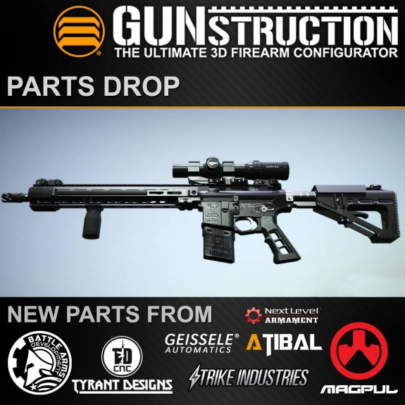 gunstruction parts drop 1