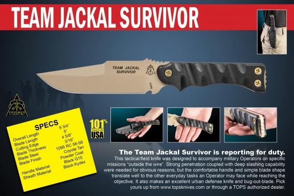 tops team jackal survivor