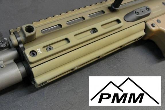 PMM SCAR MLOK Panels Installed