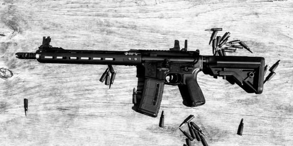 BA giveaway rifle