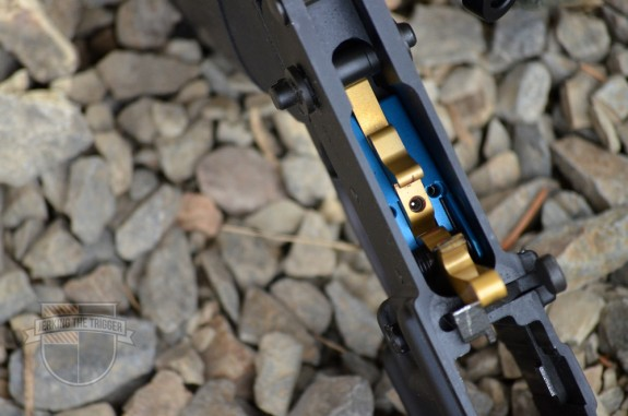 KE Arms DMR Trigger Interior