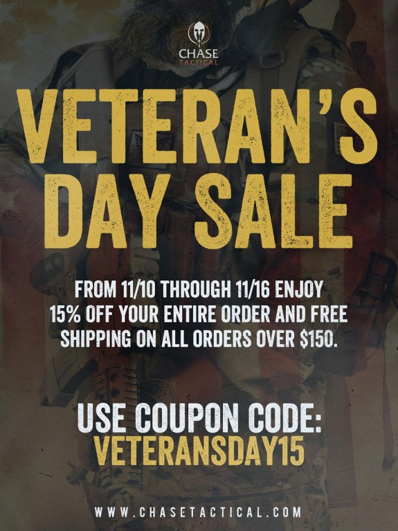 chase tactical veterans day