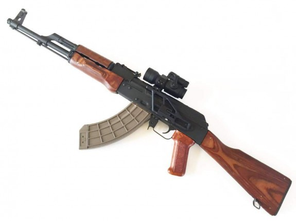 rs regualte ak301M on rifle