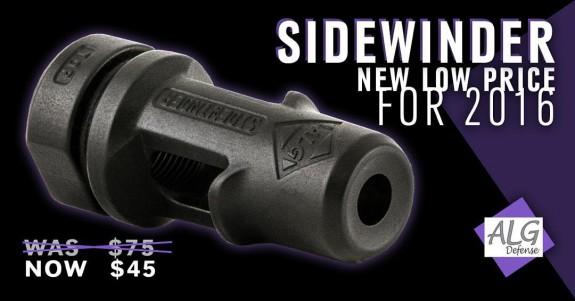 ALG Sidewinder price decrease