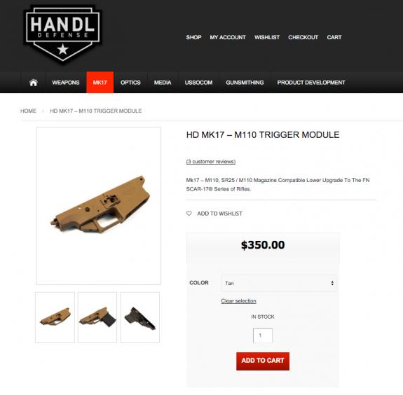 handl defense new site capture