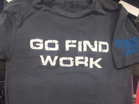 bfg go find work shirt