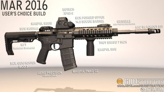 gunstruction user choice mar 2016 ar15
