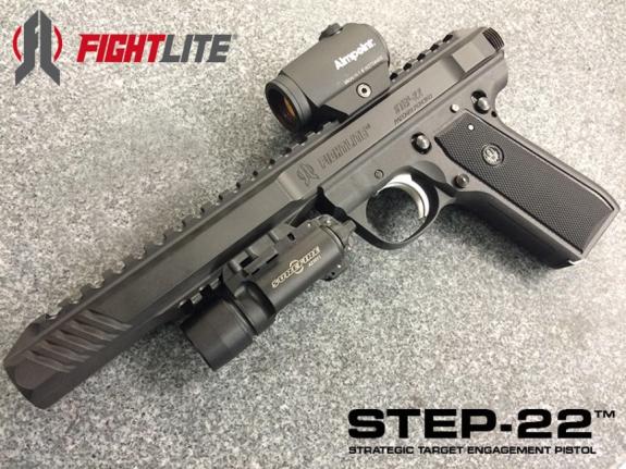 ARES Defense-FightLite STEP-22 Suppressed Pistol 2