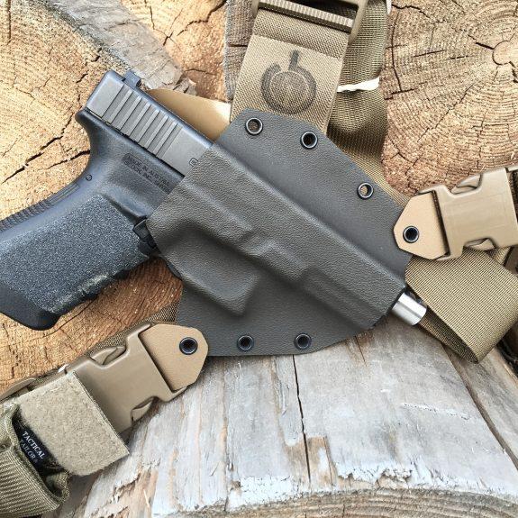 Kenai Chest Holster GunfightersINC