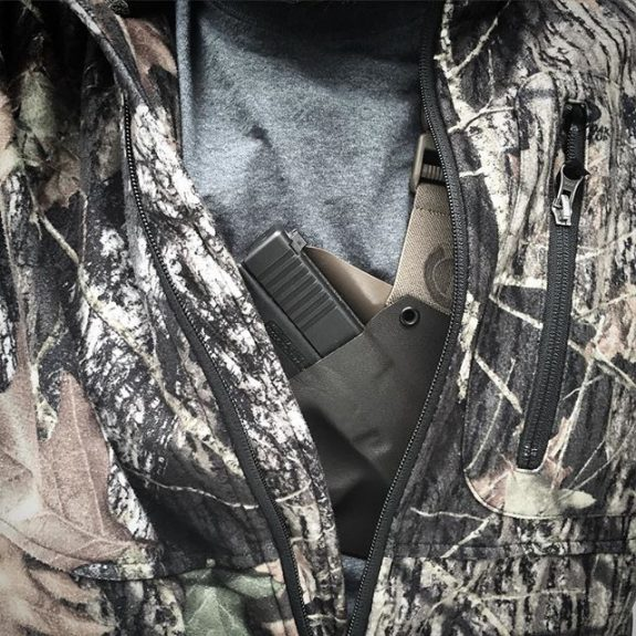 Kenai Chest Holster GunfightersINC conealed