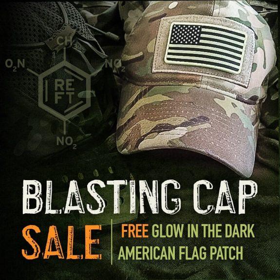 blasting cap gitd flag promo